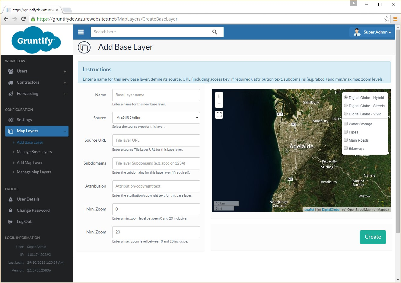 Gruntify Integrates With Digitalglobe Maps Api Gruntify