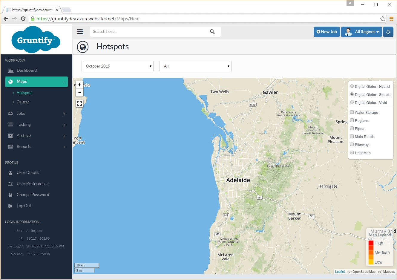 Gruntify Integrates with DigitalGlobe Maps API Gruntify